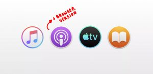 is this the end of itunes apple podcasts coming to browser